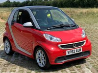 2012 SMART FORTWO 1.0 PASSION MHD 2d AUTO 71 BHP £3495.00