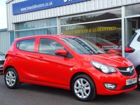 USED 2017 66 VAUXHALL VIVA 1.0 SE A/C 5dr (74bhp) .........ONE PRIVATE OWNER. FULL VAUXHALL SERVICE HISTORY. CRUISE CONTROL. LIKE NEW