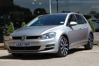 2014 VOLKSWAGEN GOLF 2.0 GT TDI BLUEMOTION TECHNOLOGY 5d 148 BHP £10000.00