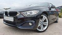 "USED 2015 65 BMW 4 SERIES 2.0 420D SPORT GRAN COUPE 4d AUTO 188 BHP 2KEYS+NAV+LEATHERTRIM+MEDIA+PRIVGLASS+19"" ALLOYS+CLIMATE+PARK+"