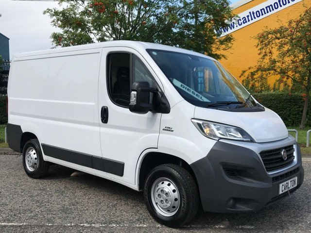 2015 15 FIAT DUCATO 2.3 35 MULTIJET 130 L1 H1 SWB LOW ROOF VAN - LOW MILEAGE