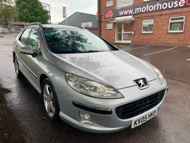 USED 2005 05 PEUGEOT 407 2.0 HDi 136 SV 5dr ESTATE DUE TO THE AGE, MILEAGE AND PRICE OF THIS VEHICLE WE ARE UNABLE TO OFFER ANY WARRANTY AND REGARDLESS OF ANY MOT LEFT TO RUN, THE VEHICLE MUST BE ACCEPTED AS SPARES OR REPAIRS. IN-LNE WITH THIS, ANY INSPECTION IS WELCOME PRIOR TO PURCHASE.