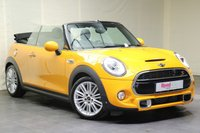 """USED 2016 16 MINI CONVERTIBLE 2.0 COOPER S 2d 189 BHP 17""""ALLOYS+1 OWNER+LEATHER+PARK CAMERA+HEATED SEATS+NAV+CRUISE CONTROL"""