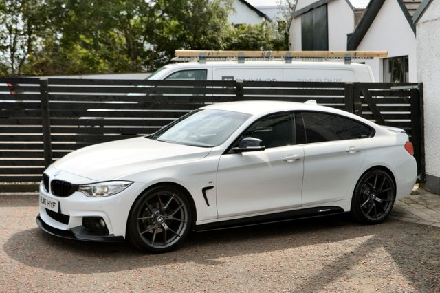 2016 16 BMW 4 SERIES 2.0 420D M SPORT GRAN COUPE 4d AUTO