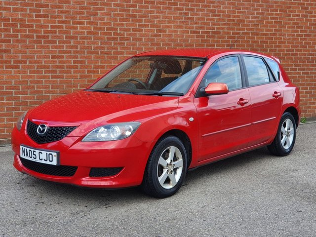 2005 05 MAZDA 3 1.6 TS 5d  *** TRADE IN  TO CLEAR ***