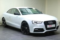 "USED 2015 15 AUDI A5 2.0 TDI QUATTRO BLACK EDITION PLUS 2d 175 BHP 19""ALLOYS+1 OWNER+PARKING SENSORS+LEATHER TRIM+NAV+CLIMATE CONTROL+PRIV GLASS"