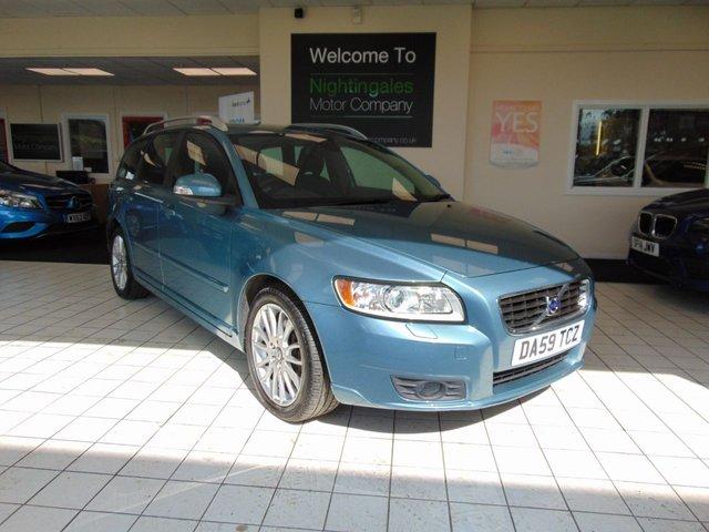 2009 Volvo V50 2 0 D SE Lux 5D 136 BHP £4,850