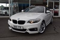 USED 2015 15 BMW 2 SERIES 2.0 220D M SPORT 2d 188 BHP FINANCE TODAY WITH NO DEPOSIT