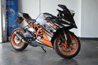 USED 2015 15 KTM RC 125cc RC 125  FULLY SERVICED +12 MONTHS MOT