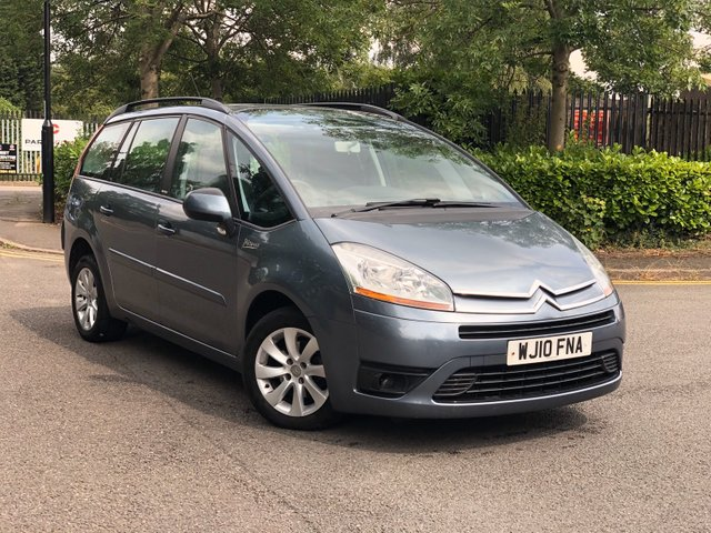 2010 10 CITROEN C4 GRAND PICASSO 1.6 VTR PLUS HDI 5d 107 BHP