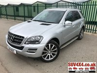 USED 2011 11 MERCEDES-BENZ M CLASS 3.0 ML300 CDI BLUEEFFICIENCY GRAND EDITION 5d AUTO 204 BHP SAT NAV  ARRIVING SOON. MORE INFO AVAILABLE ON FEATURES TAB BELOW. TEL 01937 849492 OPTION 1