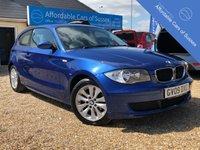 USED 2009 09 BMW 1 SERIES 2.0 116D ES 3d 114 BHP Presented in Metallic Le Mans Blue