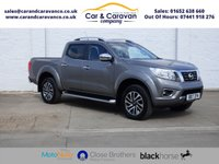 USED 2017 17 NISSAN NAVARA 2.3 DCI TEKNA 4X4 SHR DCB 1d AUTO 190 BHP Full Service History Leather Buy Now, Pay Later Finance!