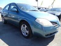 2002 NISSAN PRIMERA 1.8 SE 4d 114 BHP PX TO CLEAR £250.00