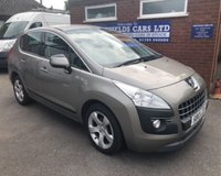 USED 2010 10 PEUGEOT 3008 1.6 SPORT HDI 5d 110 BHP ONLY 62K MILES, AIR CON