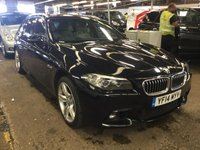 USED 2014 14 BMW 5 SERIES 3.0 535D M SPORT TOURING 5dr 313 Huge Spec FBMWSH