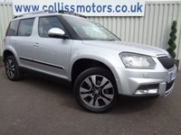 USED 2014 64 SKODA YETI 2.0 OUTDOOR LAURIN AND KLEMENT TDI CR DSG 5d AUTO 138 BHP