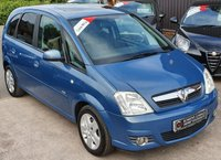 USED 2009 59 VAUXHALL MERIVA 1.6 DESIGN 16V 5d 100 BHP 2 Owners - Low Miles - S/History - Raised Seating Position