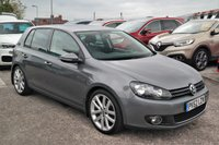 USED 2012 62 VOLKSWAGEN GOLF 1.4 GT Sport TSI 5d 160 DAB Leather FULL SERVICE HISTORY