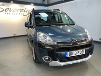 2013 CITROEN BERLINGO MULTISPACE