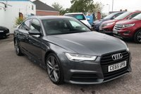 USED 2015 65 AUDI A6 2.0 TDI ULTRA S Line BLACK EDITION S Tronic MMI Touch NAV 20in Wheels