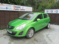 USED 2012 12 VAUXHALL CORSA 1.4 ACTIVE AC 5d 98 BHP FINANCE AVAILABLE FROM £32 PER WEEK OVER TWO YEARS - SEE FINANNCE LINK