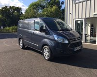 USED 2013 63 FORD TRANSIT CUSTOM 2.2 290 LIMITED L1H1 125 BHP THIS VEHICLE IS AT SITE 2 - TO VIEW CALL US ON 01903 323333