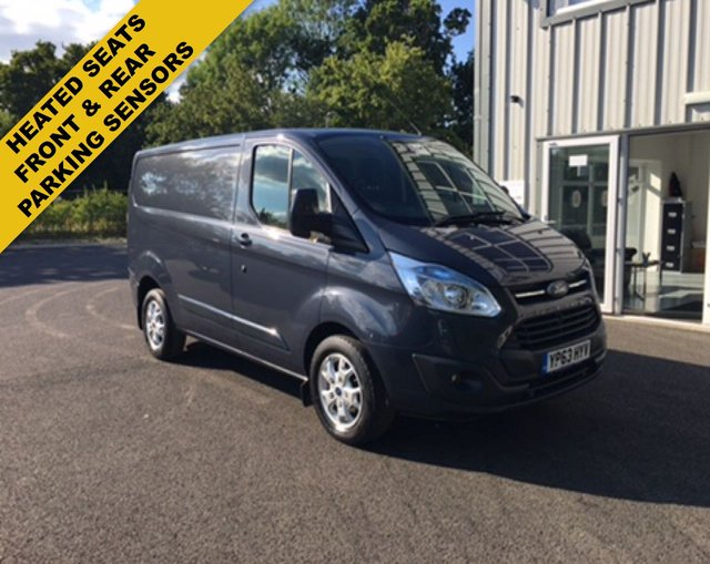 2013 63 FORD TRANSIT CUSTOM 2.2 290 LIMITED L1H1 125 BHP