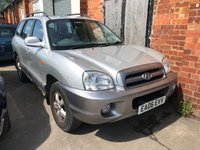 USED 2006 06 HYUNDAI SANTA FE 2.0 CDX CRTD 5d 112 BHP ARRIVING SOON. MORE INFO AVAILABLE ON FEATURES TAB BELOW. TEL 01937 849492 OPTION 3