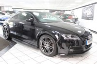 USED 2011 61 AUDI TT 2.0 TDI QUATTRO BLACK EDITION 170 BHP BOSE XENONS LEATHER BLACK PK