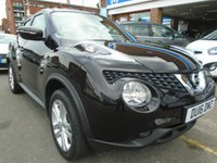 USED 2016 16 NISSAN JUKE 1.6 N-CONNECTA XTRONIC 5d AUTO 117 BHP, ULEZ EXEMPT 1 OWNER, 37,000 MILES!