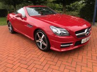 USED 2012 62 MERCEDES-BENZ SLK 3.5 SLK350 BLUEEFFICIENCY AMG SPORT 2d AUTO 306 BHP
