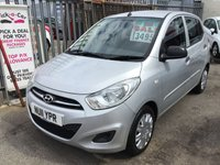 USED 2011 11 HYUNDAI I10 1.2 CLASSIC 5d 85 BHP 57000 miles, low road tax, economical, great Reliability, superb.