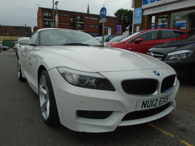 2012 12 BMW Z4 2.0 Z4 SDRIVE20I M SPORT ROADSTER 2d 181 BHP ULEZ EXEMPT