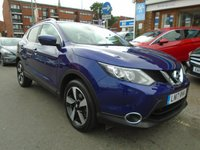 USED 2017 17 NISSAN QASHQAI 1.6 N-CONNECTA DCI XTRONIC 5d AUTO 128 BHP, ULEZ EXEMPT 1 OWNER, 19,000 MILES