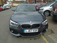 USED 2017 67 BMW 1 SERIES 1.5 116D M SPORT 5d AUTO 114 BHP ULEZ EXEMPT 1 OWNER!