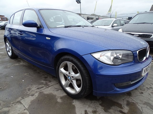 USED 2009 09 BMW 1 SERIES 2.0 116D SPORT CHEAP TAX AND INSURANCE