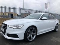 2015 AUDI A6 2.0 TDI ULTRA BLACK EDITION 4d 188 BHP £15995.00