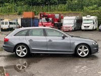 USED 2013 13 AUDI A4 3.0 TDI S line S Tronic quattro 5dr ParkingPlus/TechPack/NavPlus
