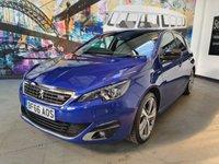 2016 PEUGEOT 308 1.6 BLUE HDI S/S GT LINE 5d 120 BHP £10994.00