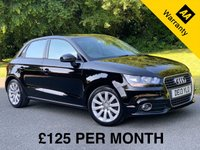 USED 2013 13 AUDI A1 1.4 SPORTBACK TFSI SPORT 5d ONE OWNER A fabulously clean and tidy example with One Owner From New and Full Service History