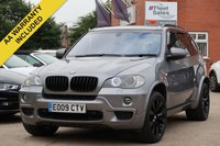 USED 2009 09 BMW X5 3.0 D M SPORT 5d 232 BHP SATELLITE NAVIGATION, FULL SERVICE HISTORY, FRONT AND REAR PARKING SENSORS