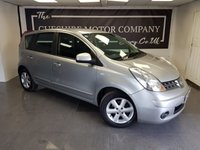 USED 2008 57 NISSAN NOTE 1.4 ACENTA 5d + LONG MOT + 4 MONTHS TAX + NEW CLUTCH