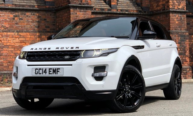 2014 14 LAND ROVER RANGE ROVER EVOQUE 2.2 SD4 DYNAMIC LUX 5d AUTO 190 BHP [BLACK PACK]