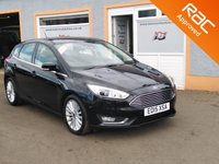 "USED 2015 15 FORD FOCUS 2.0 TITANIUM X TDCI 5d 148 BHP 17"" Alloys, Touchscreen, Sat Nav, Parking Sensors, Reversing Camera, Black Leather, Media"