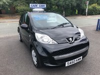 USED 2010 60 PEUGEOT 107 1.0 URBAN 5d 68 BHP Buy with confidence from a garage that has been established  for 26 years.