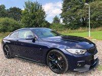 2016 BMW 4 SERIES 2.0 430I M SPORT 2d AUTO 248 BHP £23995.00