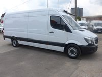 USED 2017 67 MERCEDES-BENZ SPRINTER 314 CDI LWB GAH CHILLER, 140 BHP [EURO 6]