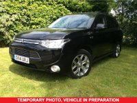 USED 2014 14 MITSUBISHI OUTLANDER 0.0 PHEV GX 4H 5d AUTO Family SUV PREVIOUSLY LOCALLY OWNED