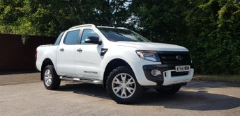 2014 FORD RANGER 3.2 WILDTRAK 4X4 DCB TDCI 1d AUTO 197 BHP £13995.00